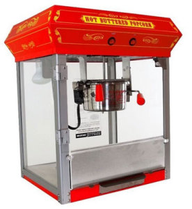 Funtime Popcorn Machines 4 oz. Countertop Kettle
