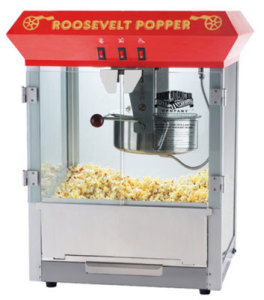 Great Northern Popcorn 8 oz Roosevelt Antique Popcorn Machine