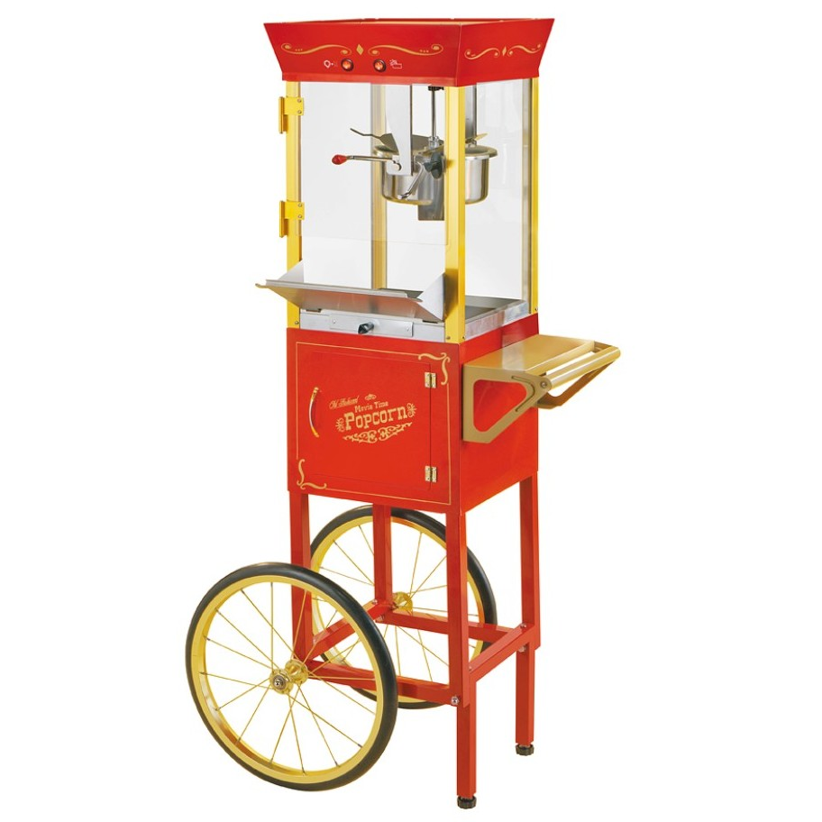 Vintage 53 Circus Cart Popcorn Maker in Red
