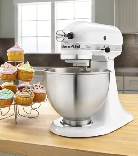 Kitchenaid Ksm75sl 4.5 Qt. Classic Plus Stand Mixer, A Great Kitchen Tool  That Has Already Made Its Place In Many Kitchens Around The World By Its  Easy, ...